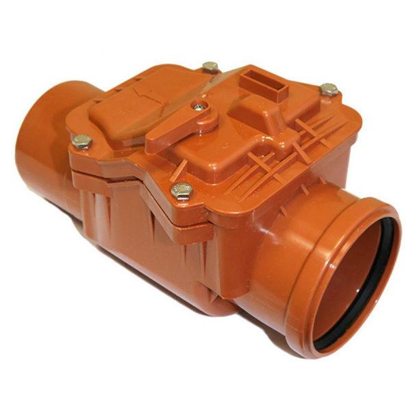 25 6 600x600 - Клапан обратный ПП наружный 110