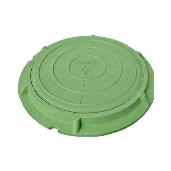 273200213 lyuk polimerno kompozitnyj legkij zelenyj 1 600x600 - Люк полимерный легкий, 30 кН