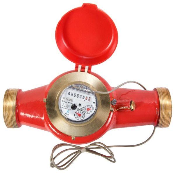 orig 2 600x592 - Счетчик воды до 120 градусов ВСКМ импульсный выход
