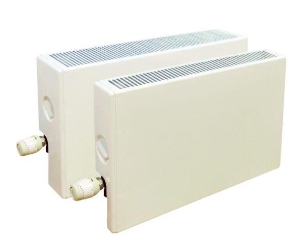 """1 5 600x469 - Конвектор """"Универсал Авто В"""", с терморегулятором, установленным на входе, однотрубная система"""