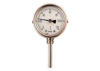 19 - Термометры биметаллические, технические, коррозионностойкие, без резьбовые