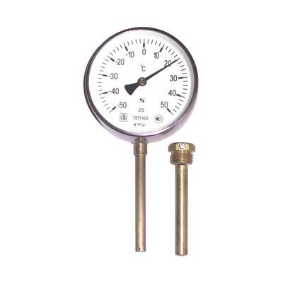21 - Термометры биметаллические, технические, промышленные, резьбовые