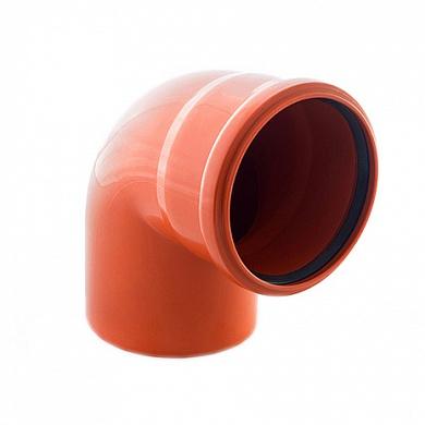 22 1 - Отвод ПП 90° рыжий