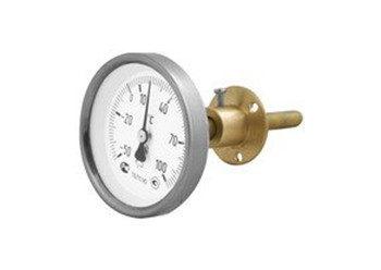 23 - Термометры биметаллические, технические, промышленные, без резьбовые