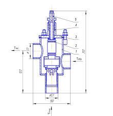 39 - Регуляторы температуры сильфонные прямого действия РТЕ 21М