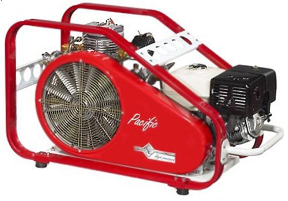 kompressor pacific p 250 - Компрессор Pacific P 250 (250 л/мин, 380В, ресурс картриджа-400 м3, вес 136 кг)