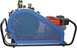 kompressor vektor 265 s elektroprivodom - Компрессор Вектор-265 с электроприводом,(265л/мин, 30МПа, 380В/50Гц, 5,5 кВт, 2 запр штуцера, 120 кг, переносной)