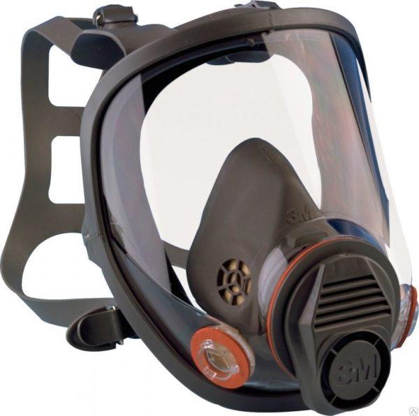 polnaya maska 3m serii 6800 600x596 - Полная маска 3М серии 6800